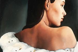 THE LITTLE ESCAPE - 1989 - 40×50