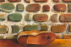 THE COBBLER'S WALL – 1985 – 40x50